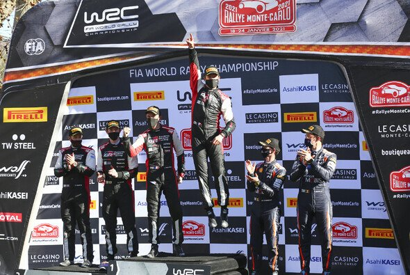 Sebastien Ogier gewinnt die Rallye Monte-Carlo 2021 - Foto: Toyota