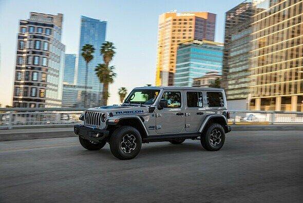 Der Jeep Wrangler 4xe ist ein Plug-in-Hybrid - Foto: Jeep