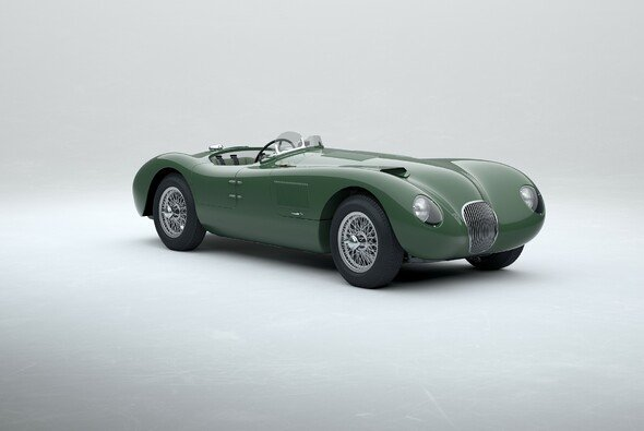 Eine originalgetreue Nachbildung des legendären Jaguar C-type - Foto: Jaguar Classic