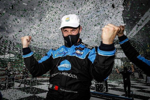 Heute ein Superstar auf der Langstrecke: der zweifache Daytona-Sieger Filipe Albuquerque - Foto: LAT Images