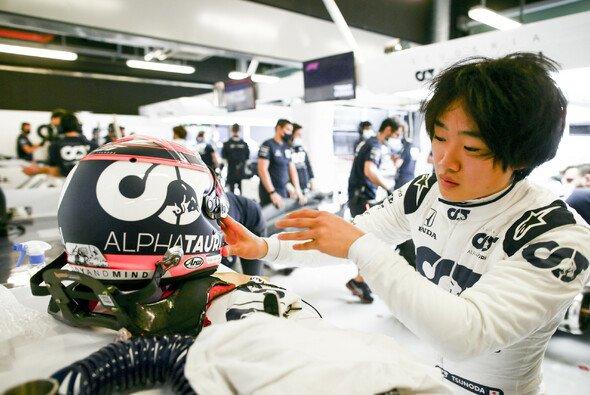 Yuki Tsunoda fuhr 2020 schon Tests für AlphaTauri - Foto: Red Bull Content Pool