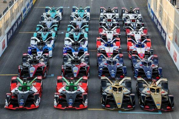 Die Formel E startet Ende Februar mit zwölf Teams und 24 Autos in ihre 7. Saison - Foto: Formula E