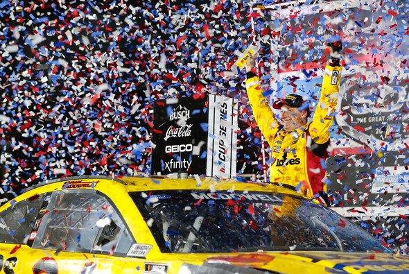 Michael McDowell holt seinen ersten Karrieresieg ausgerechnet beim Daytona 500 - Foto: LAT Images