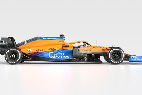 McLaren präsentiert heute sein 2021er Team rund um die neuen Stars Daniel Ricciardo und Mercedes-Motor - Foto: McLaren