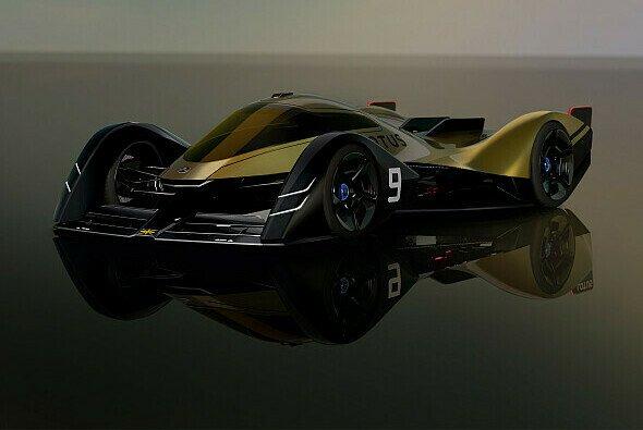 So sieht das erste Konzept des Lotus E-R9 für 2030 aus - Foto: Lotus