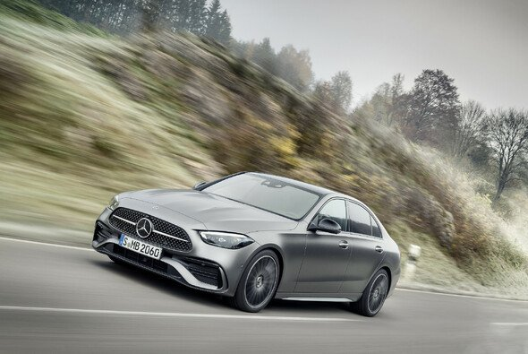 Die neue C-Klasse von Mercedes wirkt wie eine geschrumpfte S-Klasse - Foto: Mercedes-Benz AG