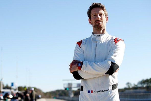 Romain Grosjean gab bei seinem ersten IndyCar-Test sein Comeback nach dem Feuerunfall in der Formel 1 - Foto: IndyCar