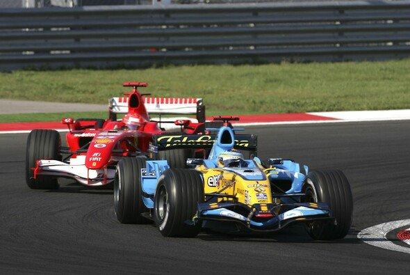 Die Formel-1-Saison 2006 war geprägt vom Duell der beiden Weltmeister - Foto: LAT Images