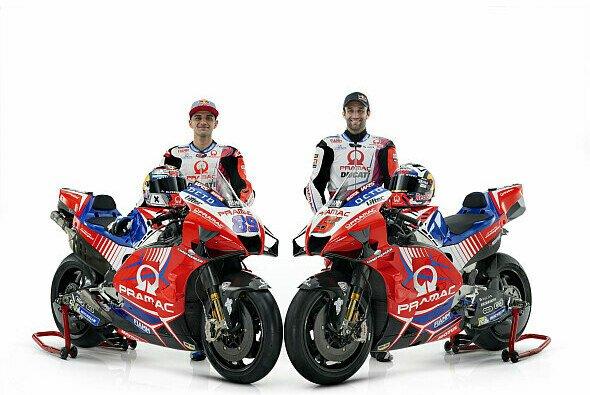 Jorge Martin und Johann Zarco gehen auch 2022 für Pramac Racing an den Start. - Foto: Pramac