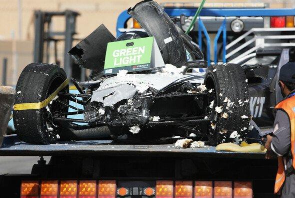Venturi-Pilot Edoardo Mortara verunfallte in Saudi-Arabien schwer - Foto: LAT Images