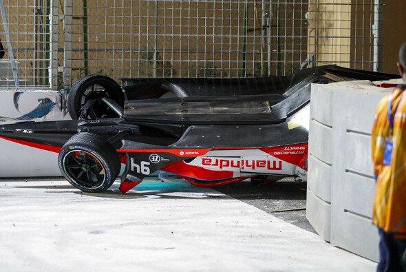 Alex Lynns Unfall ist der jüngste Zwischenfall in der Formel E - Foto: LAT Images