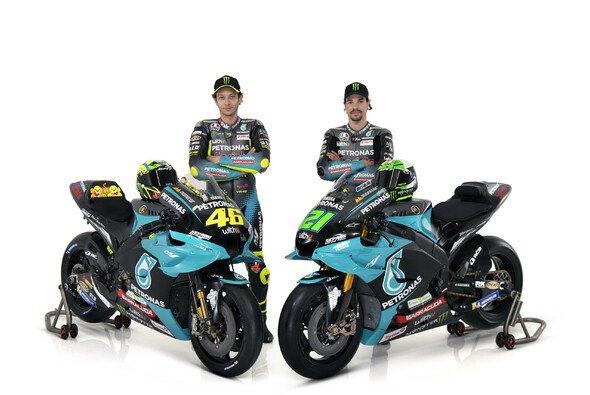 Franco Morbidelli und Valentino Rossi sind 2021 Teamkollegen in der MotoGP - Foto: Petronas SRT Racing