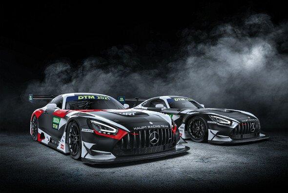 Großaufgebot von Mercedes-AMG in der DTM-Saison 2021 - Foto: HRT