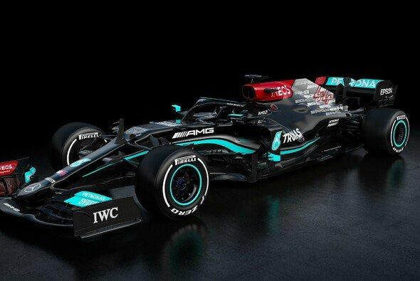 Mercedes präsentiert erste Bilder vom neuen Silberpfeil F1 W12 E Performance - Foto: Mercedes-AMG F1