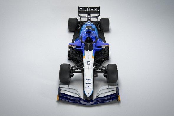Williams sieht die Formel-1-Saison 2021 mit dem FW43B als Übergangsjahr - Foto: Williams