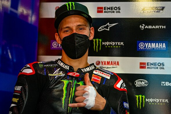 Fabio Quartararo hatte am Sonntag gut lachen - Foto: MotoGP.com