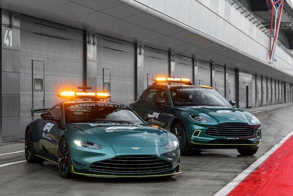 Aston Martin stellt in der Formel 1 2021 erstmals Safety Car und Medical Car neben Mercedes-AMG - Foto: Aston Martin