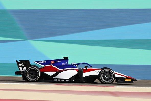 David Beckmann bestimmt am ersten Formel-2-Testtag das Tempo. - Foto: Formula Motorsport Limited