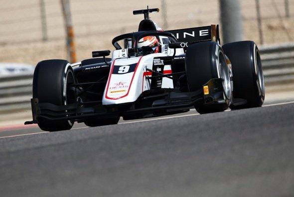 Christian Lundgaard sichert sich am zweiten Tag der Formel-2-Tests in Bahrain die schnellste Rundenzeit. - Foto: Formula Motorsport Limited