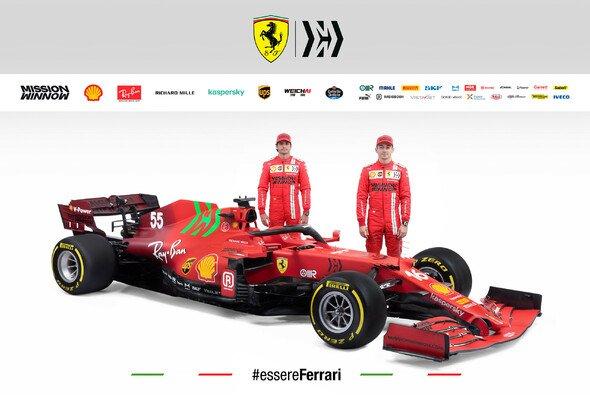 Ferrari präsentiert das neue Formel-1-Auto - und addiert grün - Foto: Ferrari