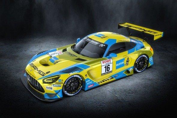 Bekanntes Design im Motorsport: Blau-gelbe Bilstein-Rennwagen - Foto: HRT