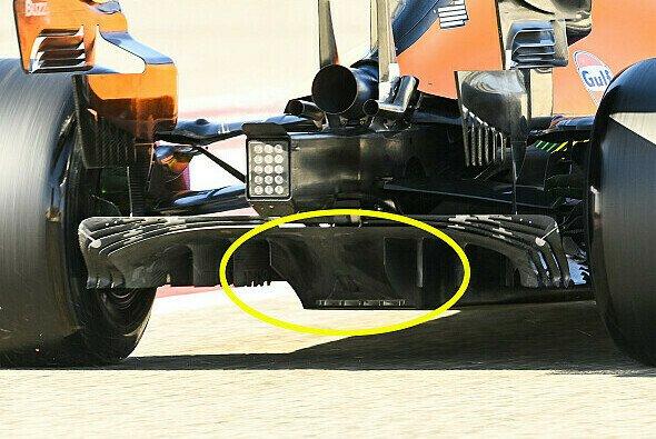 McLaren sorgte bei den Testfahrten mit dem Diffusor für Aufsehen - Foto: Motorsport-Magazin.com