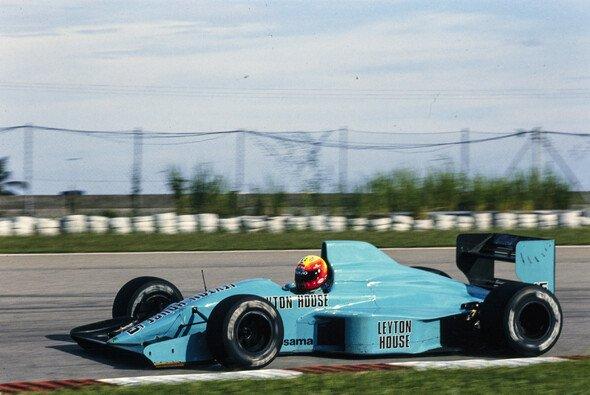Mauricio Gugelmin holte 1989 ein Podest im ersten von Adrian Newey entwickelten Formel-1-Auto - Foto: LAT Images