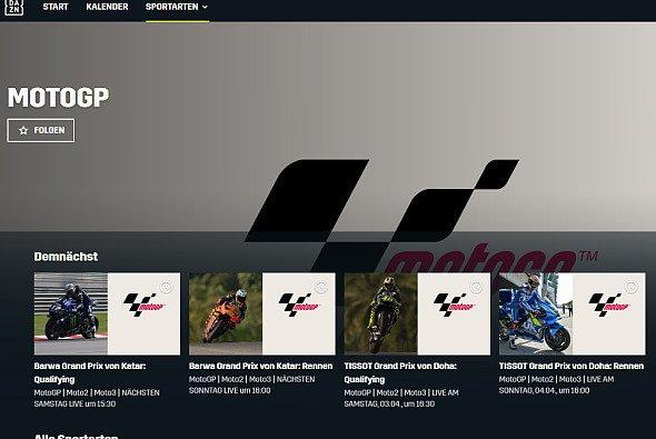 Die Liveübertragungen finden sich bereits bei DAZN - Foto: DAZN/Screenshot