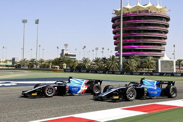 Guanyu Zhou gewinnt das Hauptrennen der Formel 2 in Bahrain - Foto: LAT Images