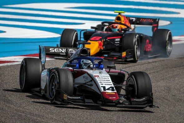 David Beckmann fuhr beim Saisonauftakt der Formel 2 in Bahrain auf das Podest - Foto: Dutch Photo Agency