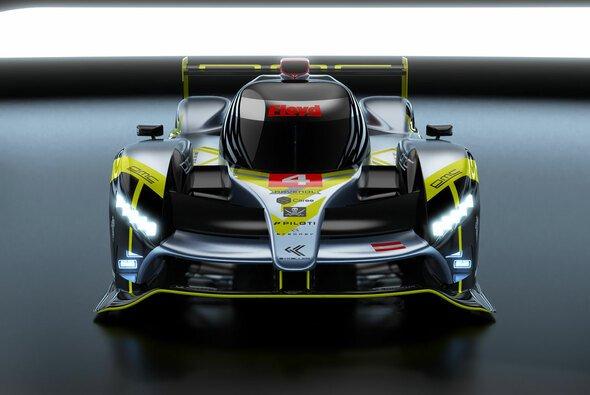 So soll das Hypercar von ByKolles Racing bei den 24-Stunden von Le Mans 2022 aussehen. - Foto: ByKolles