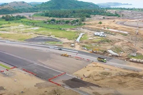 Der Mandalika International Circuit: Im Moment nicht mehr als eine Baustelle. - Foto: MotoGP