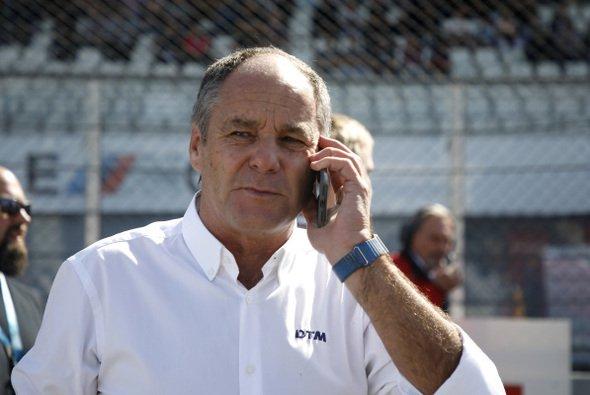 DTM-Boss Gerhard Berger: Wir arbeiten noch an dem ein oder anderen Hersteller. - Foto: LAT Images