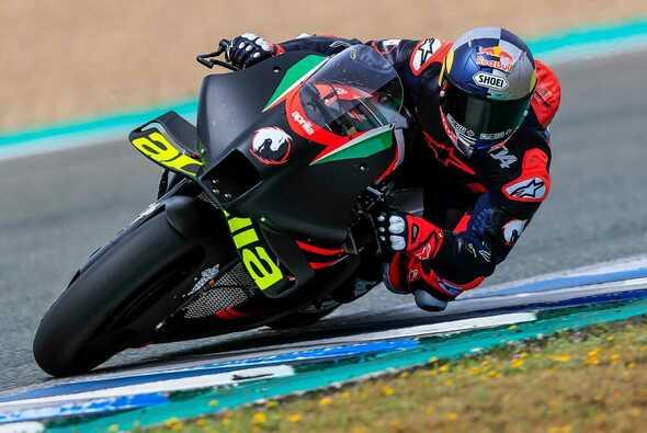 Andrea Dovizioso testete bereits zum dritten Mal für Aprilia - Foto: MotoGP