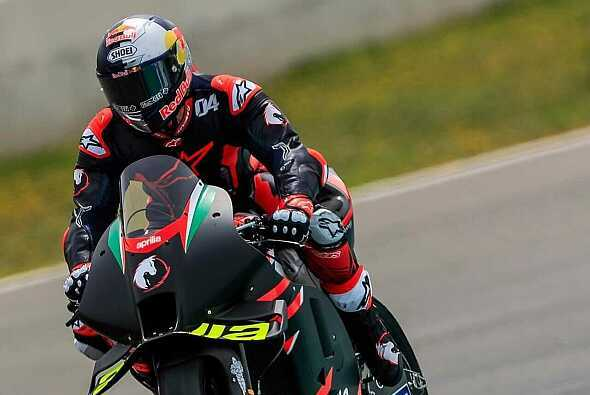 Andrea Dovizioso saß zum zweiten Mal auf der Aprilia RS-GP - Foto: MotoGP