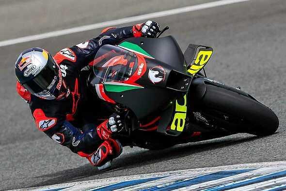 Andrea Dovizioso testet erneut für Aprilia - Foto: MotoGP