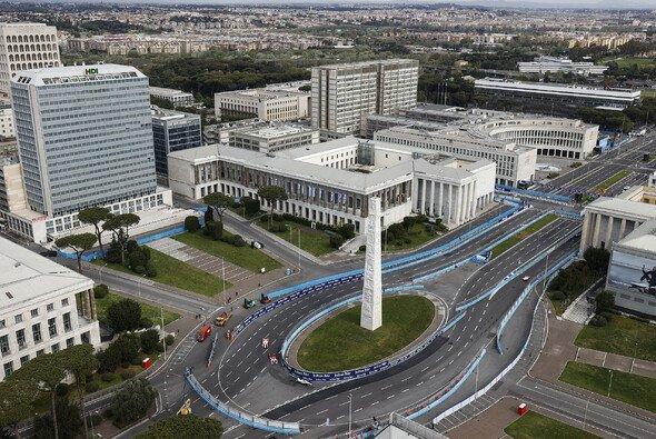 Bei den Formel-E-Rennen in Rom war hier die Attack-Mode-Zone angesiedelt - Foto: LAT Images