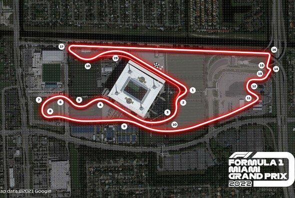 Die Formel 1 stellte die Strecke um das Hard Rock Stadium in Miami offiziell vor - Foto: Formula 1