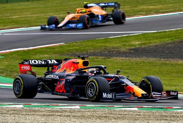 Max Verstappen hat heute das Rennen in Imola gewonnen - Foto: LAT Images