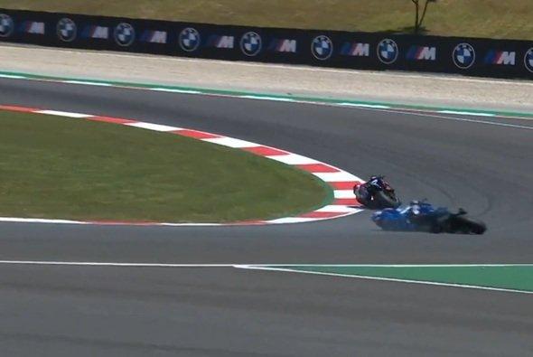 Turn 5 wurde Alex Rins zum Verhängnis - Foto: Screenshot/MotoGP