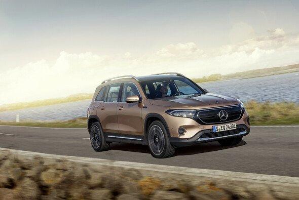 Der neue Mercedes EQB soll noch 2021 in den Handel kommen - Foto: Mercedes-Benz AG