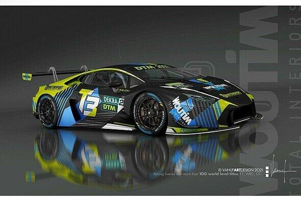 T3 Motorsport setzt einen Lamborghini Huracan GT3 Evo in der DTM 2021 ein - Foto: T3 Motorsport