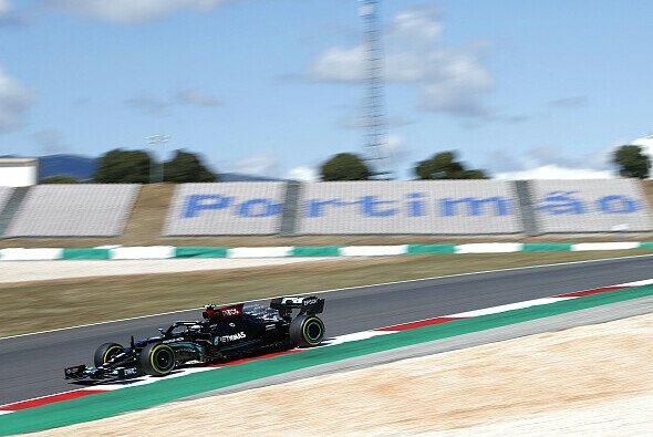 Mercedes wurde in den Trainings von Portugal überrascht - Foto: LAT Images