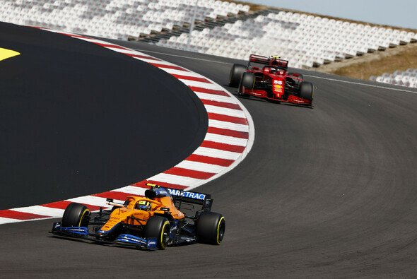 In Baku sieht sich Ferrari McLaren wieder hinterherfahren - Foto: LAT Images