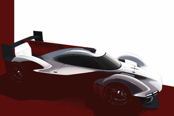 Porsche Penske Motorsport: So soll der LMDh-Bolide des Teams aussehen. - Foto: Porsche Motorsport