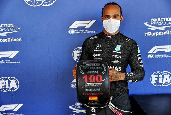 Lewis Hamilton dringt in neue Sphären vor: Pole Nummer 100 in Spanien - Foto: LAT Images
