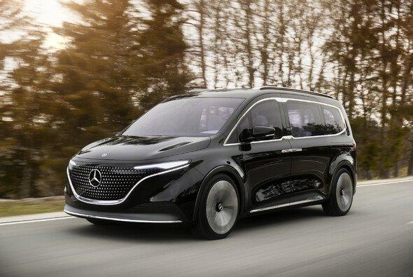 Mercedes gibt mit dem Concept EQT einen Ausblick auf einen neuen Elektro-Van - Foto: Mercedes-Benz AG