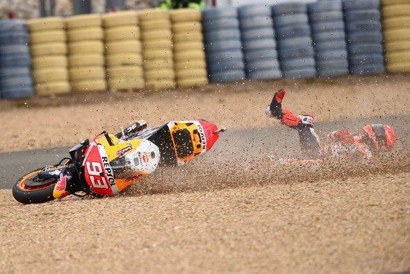 Marc Marquez zeigte in Le Mans wieder seine zwei Gesichter: Genie und Wahnsinn - Foto: LAT Images