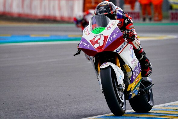 Lukas Tulovic wird im MotoE-Qualifying nur von Eric Granado geschlagen. - Foto: MotoGP