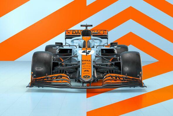 McLaren wird in Monaco mit der ikonischen Gulf-Lackierung an den Start gehen - Foto: McLaren Racing